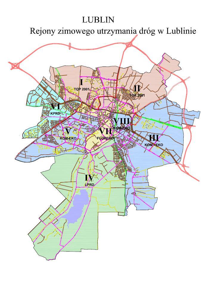 mapa utrzymanie